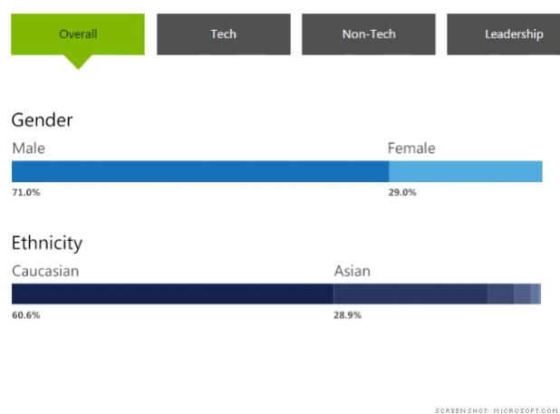 worst tech diversity