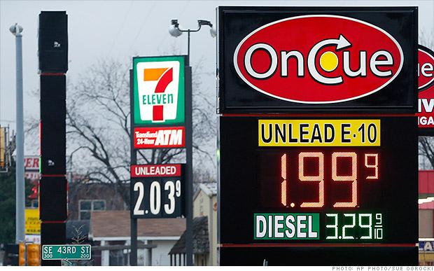 nj gas prices 2015