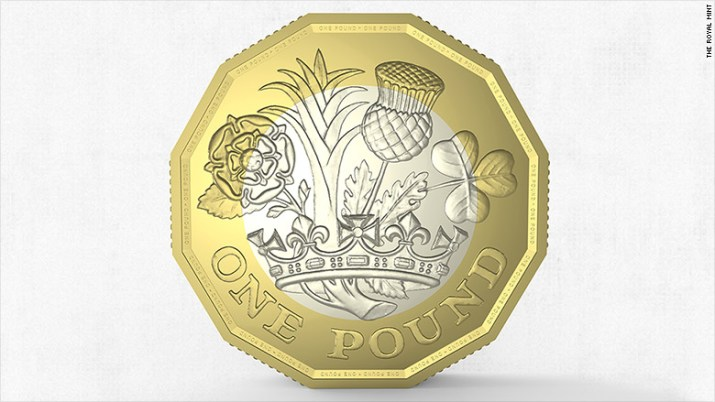 new 1 pound coin