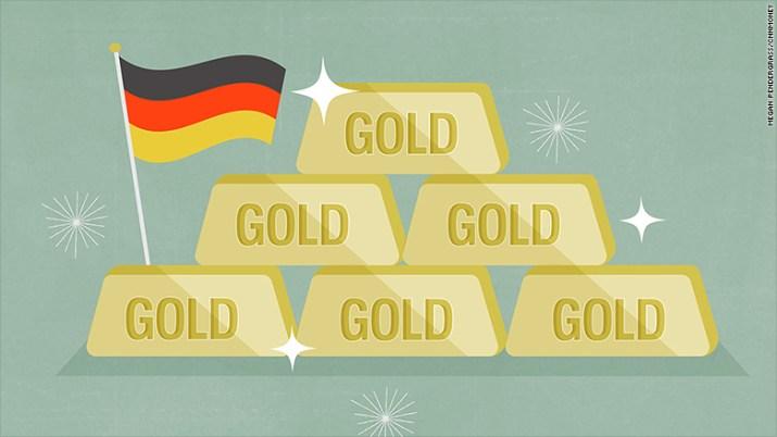 germans love gold