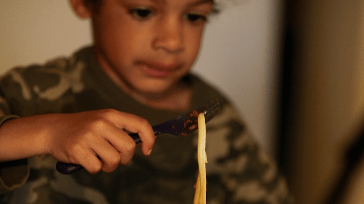 Feeding America's most vulnerable children