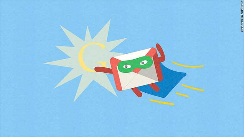 gmail superhero