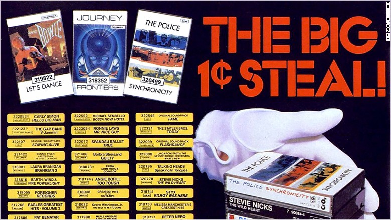Image result for columbia house record club