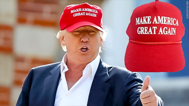 Image result for trump with cap