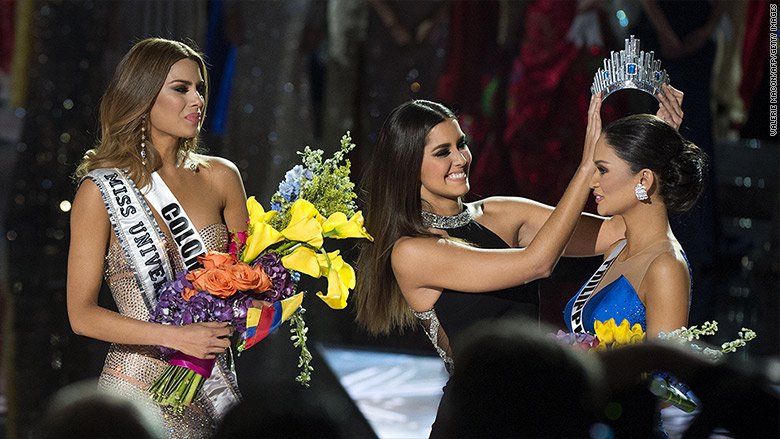 miss universe 2015 crowning