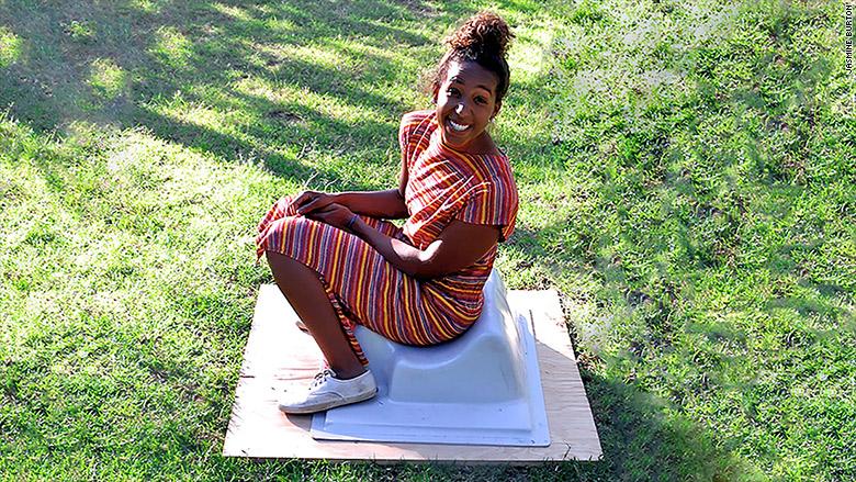 jasmine burton toilet grass