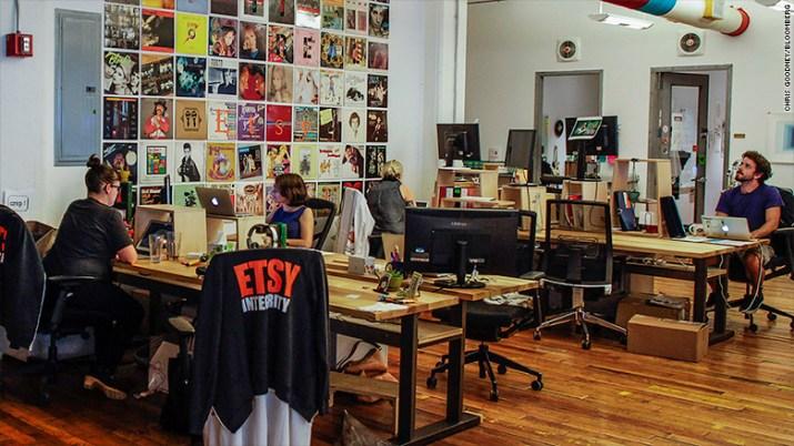 etsy headquarters office dumbo