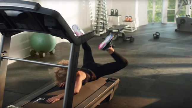 Apple Music Ad Shows Taylor Swift Falling on Treadmill - Enrich Naija