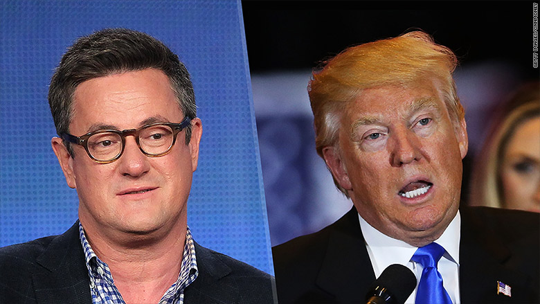 Image result for images of morning joe and donald trump