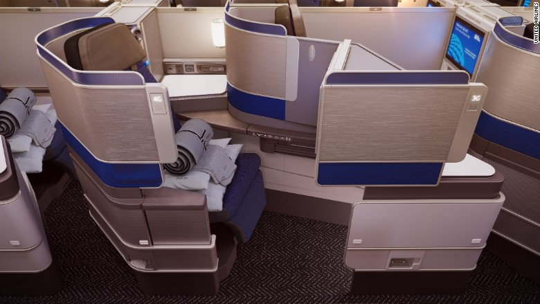 United Airlines Unveils New Luxury Business Cabin