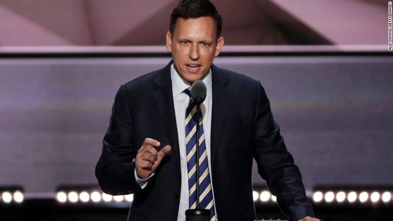 Image result for peter thiel RNC