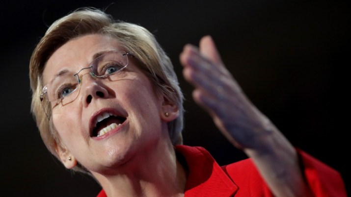 Warren to Acosta: I'm glad you aren't Puzder