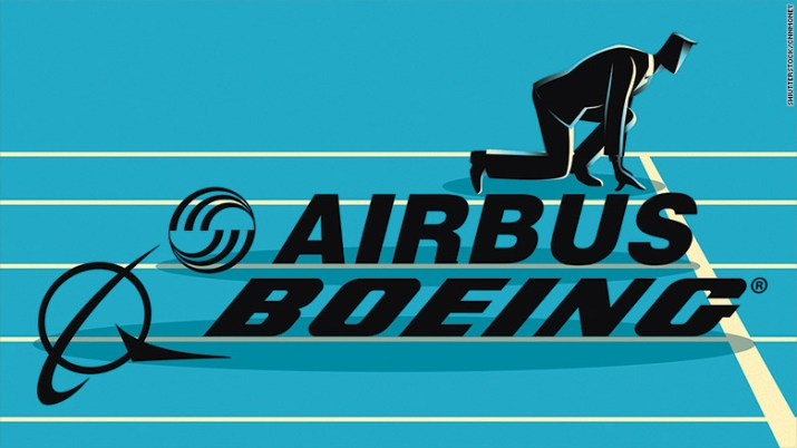 boeing airbus competition
