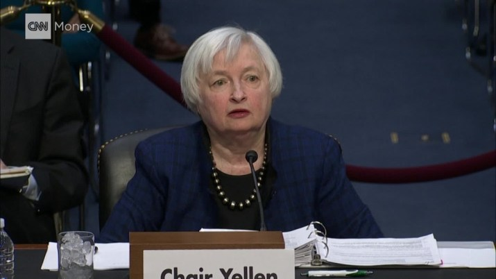 Janet Yellen on Dodd-Frank: 'I wouldn't want to see the clock turned back'
