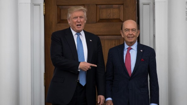 Wilbur Ross in 75 seconds