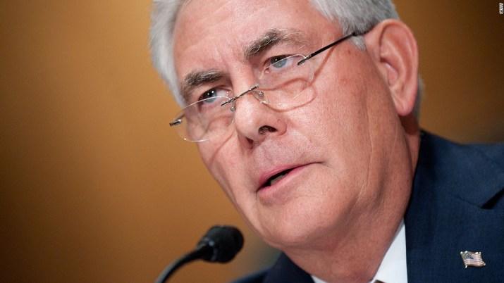 ExxonMobil CEO frontrunner for Secretary of State