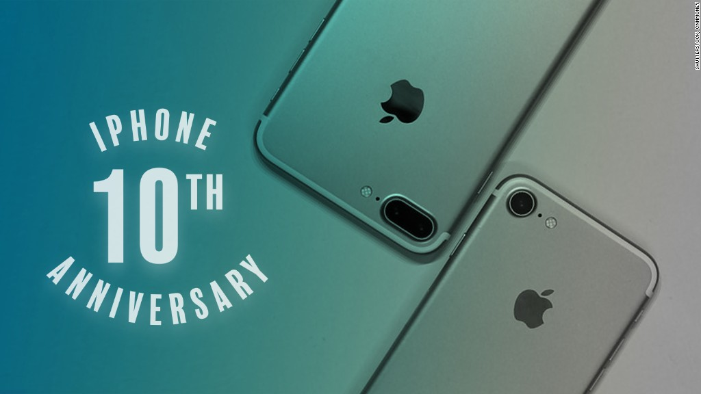 Image result for iphone turns 10