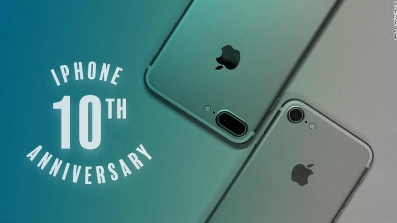 สุขสันต์วันเกิดครบรอบ 10 ปี iPhone