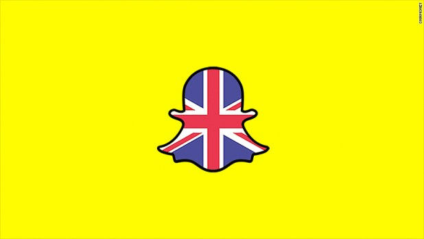 Image result for images of snapchat in london