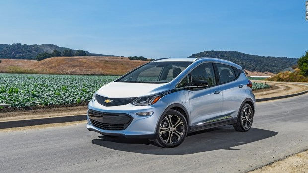 Chevy Bolt powers through