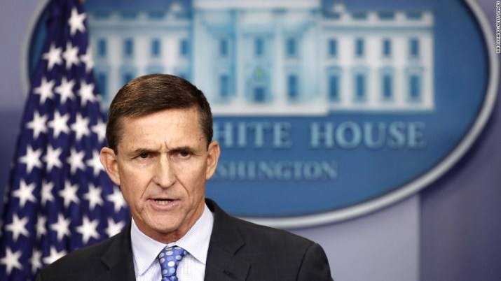 Trump's praise of Michael Flynn over the years
