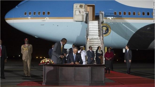 president obama kenya
