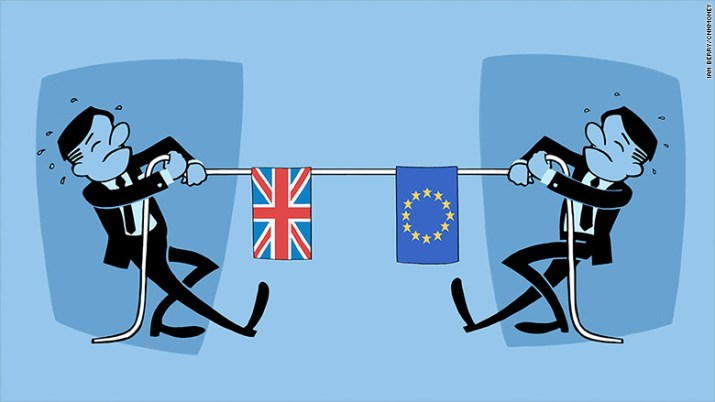 brexit tug of war