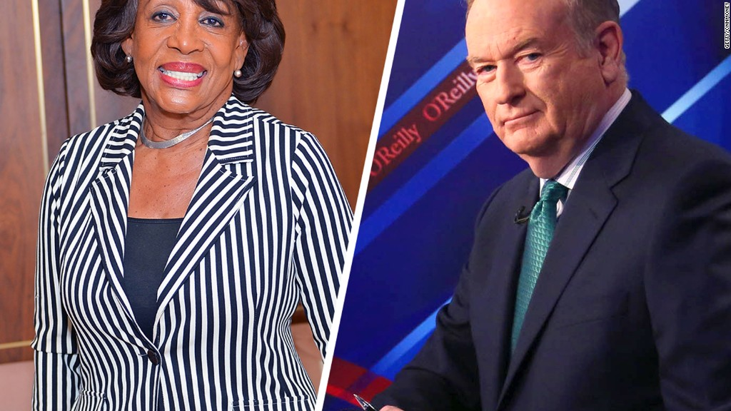Image result for Bill O'Reilly apologizes after making racially charged joke about congresswoman