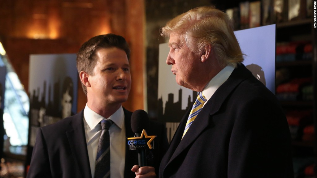 Image result for Billy Bush to Trump: Yes, you said that