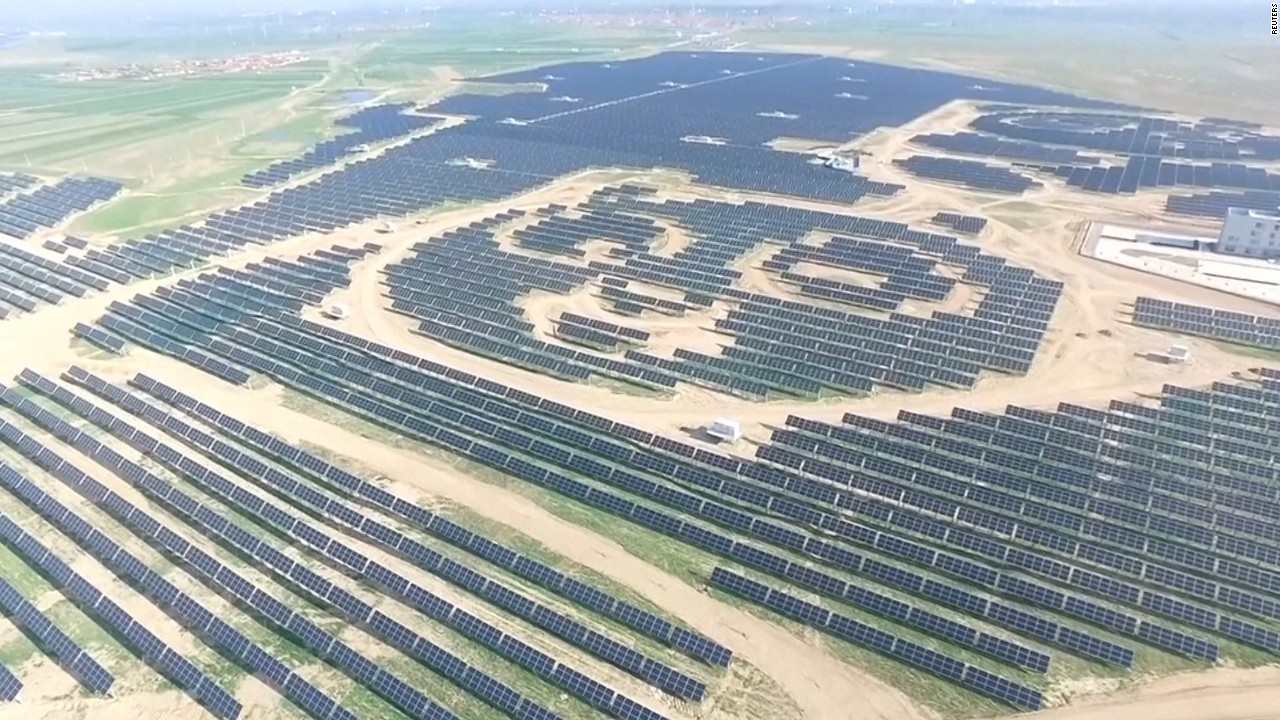 Image result for solar farms china