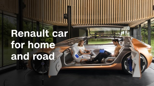 This Renault car can become part of your house