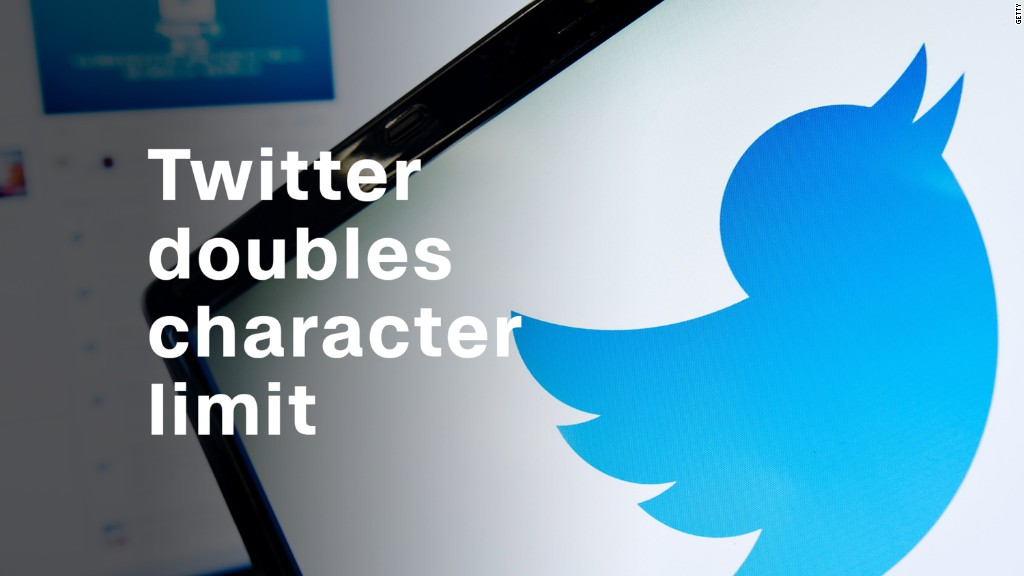 Image result for Twitter trolls itself on new 280 character limit