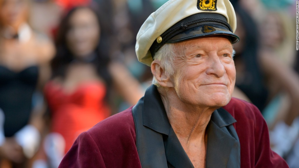 Image result for Playboy founder Hugh Hefner dead at 91