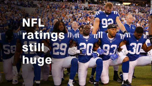 NFL ratings are still huge