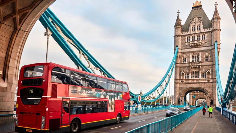 London Buses Are Being Powered By A New Fuel Coffee