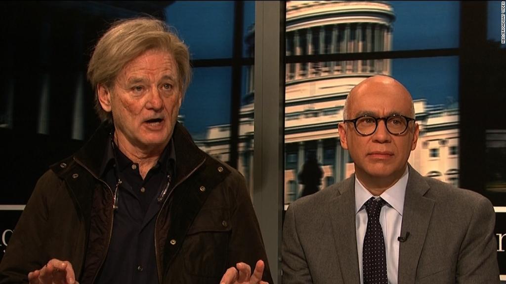 Bill Murray debuts as Steve Bannon on 'SNL'