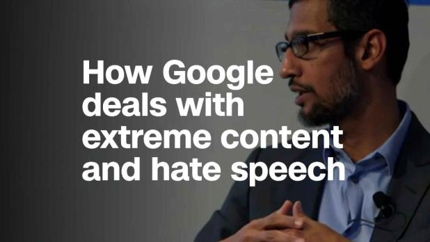 Google CEO: Democracies should draw line on hate speech, not us