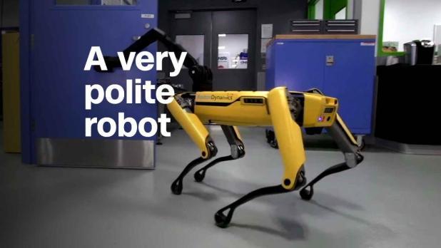 Dexterous robot could be your next doorman