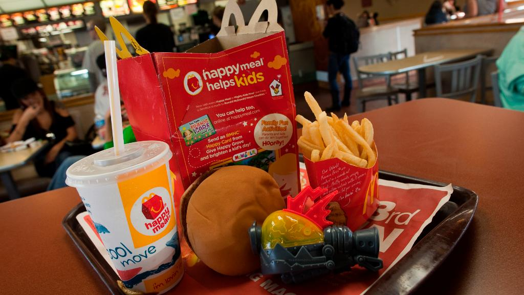 Image result for McDonald's is taking cheeseburgers out of the Happy Meal