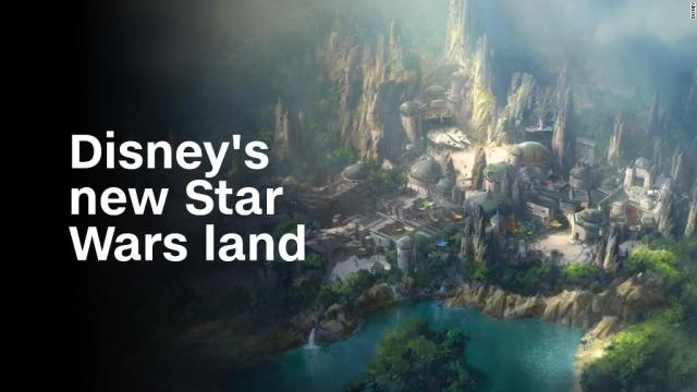 Get the first glimpse of Disney's new Star Wars land