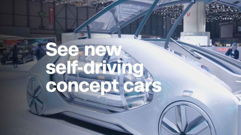 Ces concept-cars autonomes ne ressemblent à rien de ce que vous avez vu auparavant