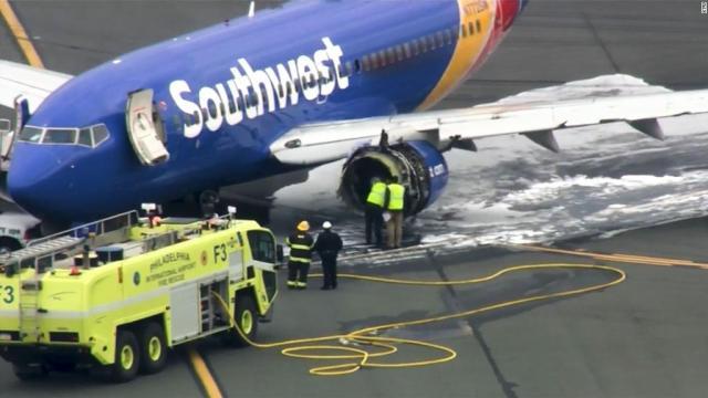 Southwest plane makes emergency landing