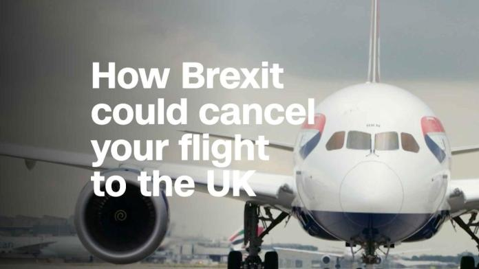 How Brexit could end flights in and out of the UK