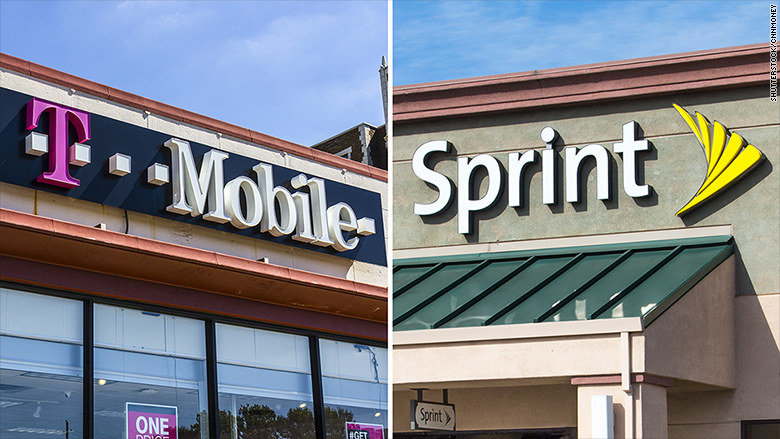 sprint t mobile merger
