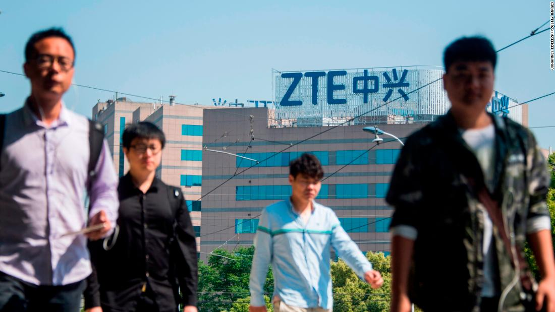 Image result for President Trump says he's working with China to save ZTE