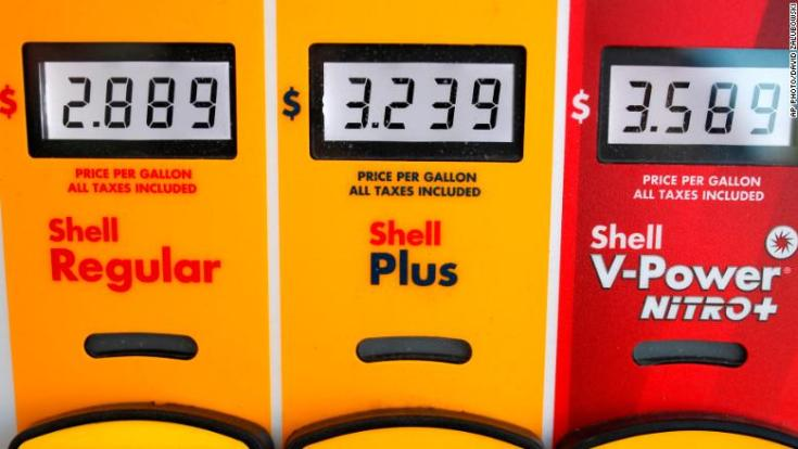 gas prices memorial day