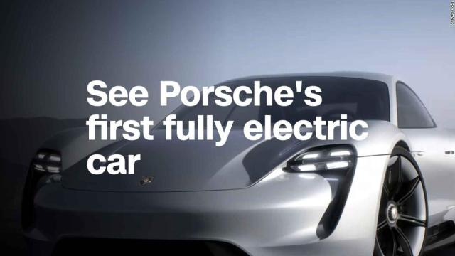 See Porsche's first fully electric car