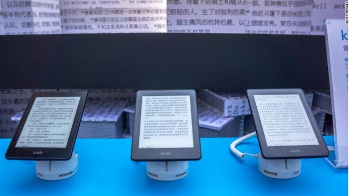 chinese kindle amazon