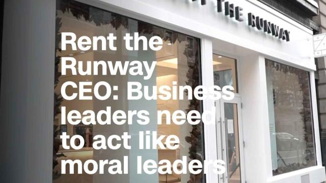 Rent the Runway CEO: Business leaders need to act like moral leaders
