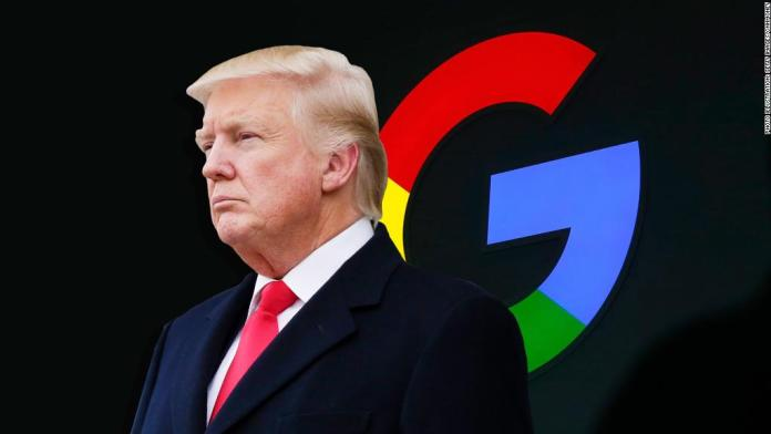 Google: Search is not used to set a political agenda